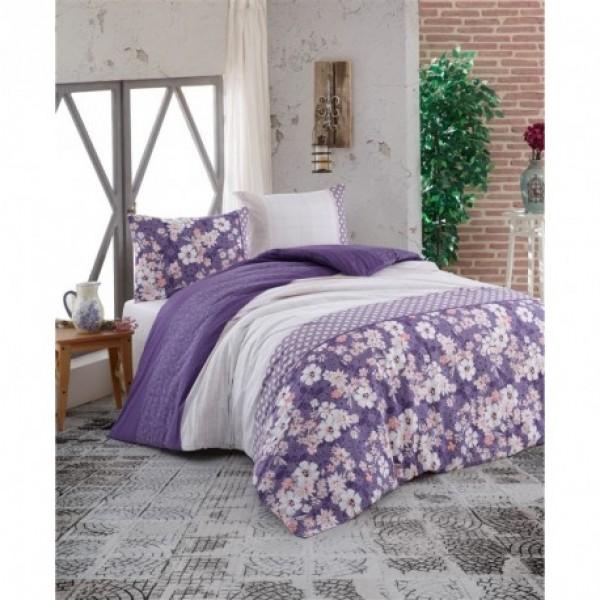 Povlečení francouzské bavlna 240x220,70x90 Dona purple Brotex 70242/Z/1902