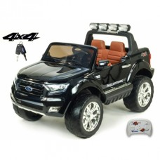 Dětské elektrické autíčko Ford Ranger Wildtrak 4x4 LUX s 2,4G, 12V, černá metalíza Ford 96