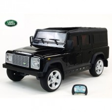 Dětské elektrické autíčko Land Rover Defender s 2,4G, 12V, černé Lond Rover 100