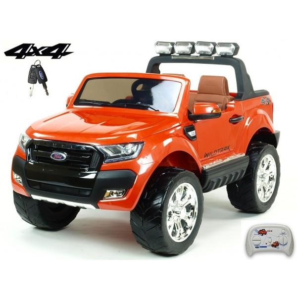 DEA Elektrické autíčko Ford Ranger Wildtrak 4x4 oranžový