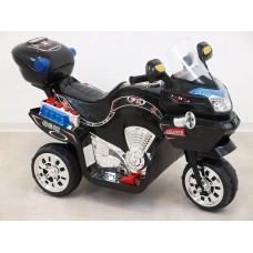 Bayo Dětská elektrická motorka FX střední velikost 6V - černá
